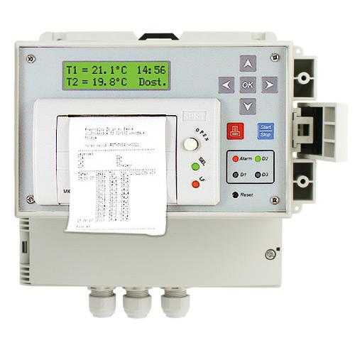 регистратор температуры термографом dr100 + датчик