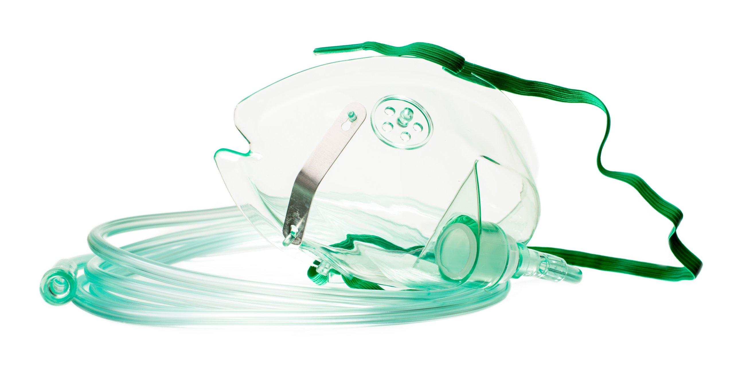 Kyslíková maska pre deti + 2,1 M. hadica