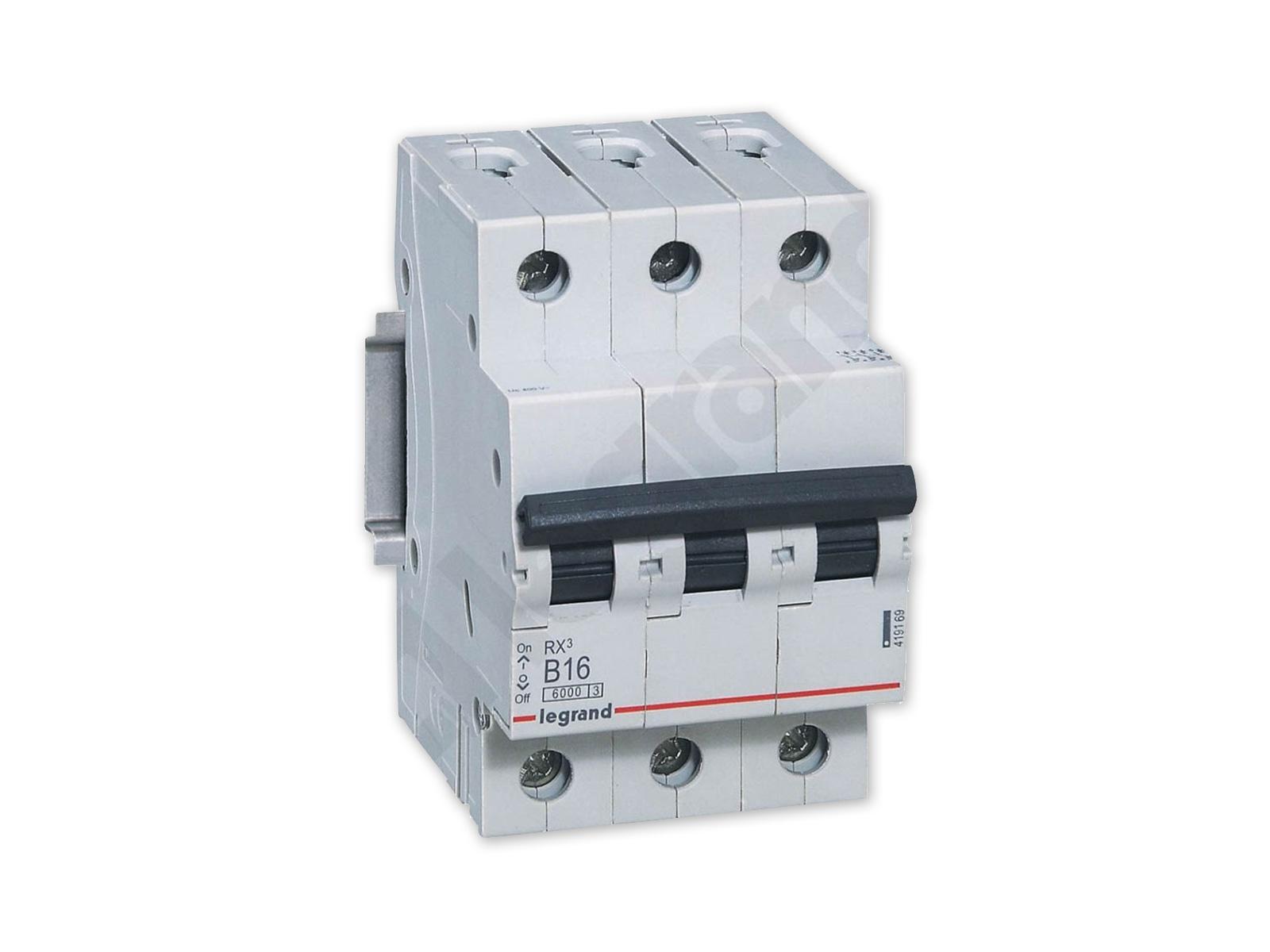 LEGRAND RX3 Выключатель максимального тока 3P B16A 419169