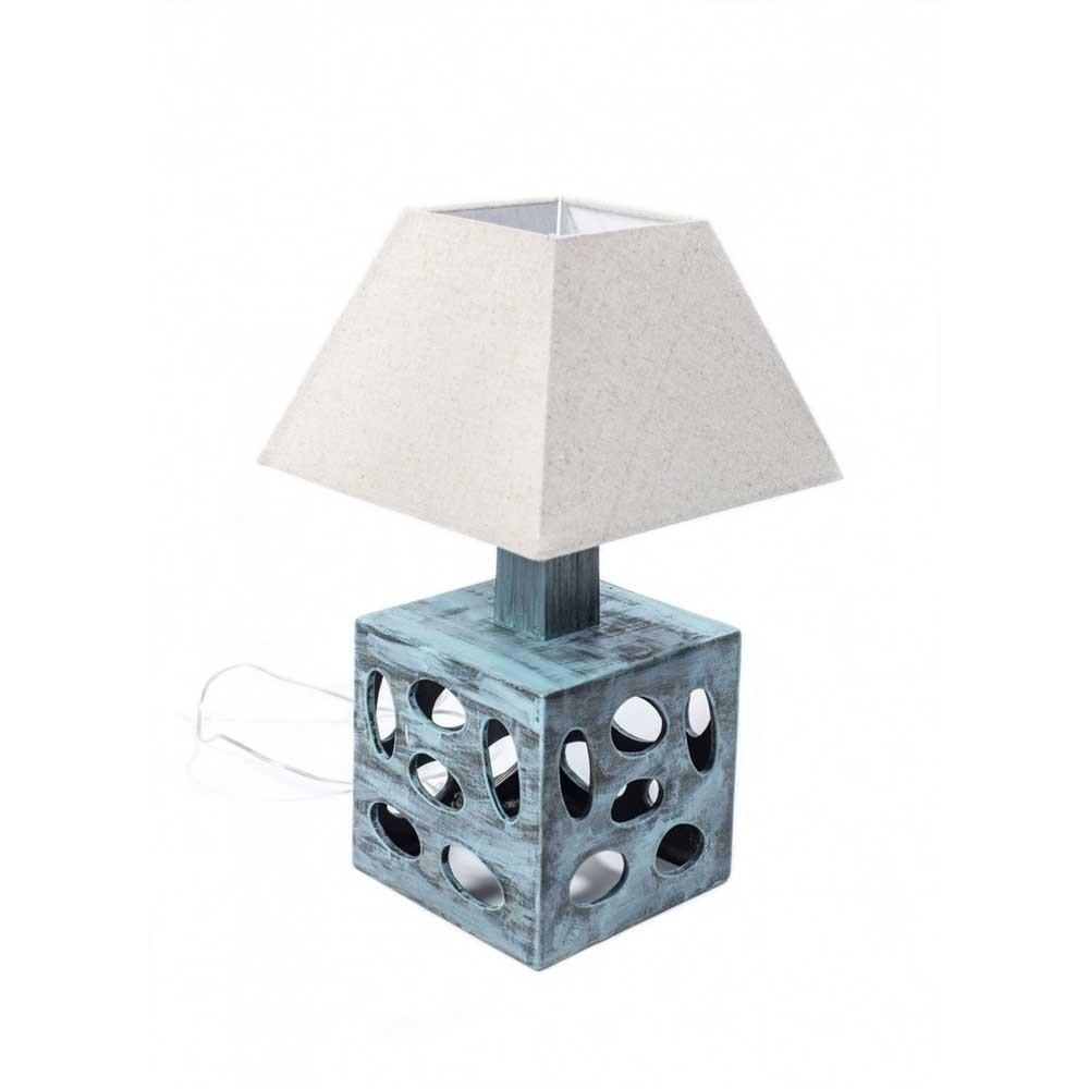 CUBO PRZETARTA MINT noc lampa výška 51 cm