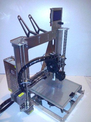 3D tlačiareň, Prusa I3 hliník, zníženie,