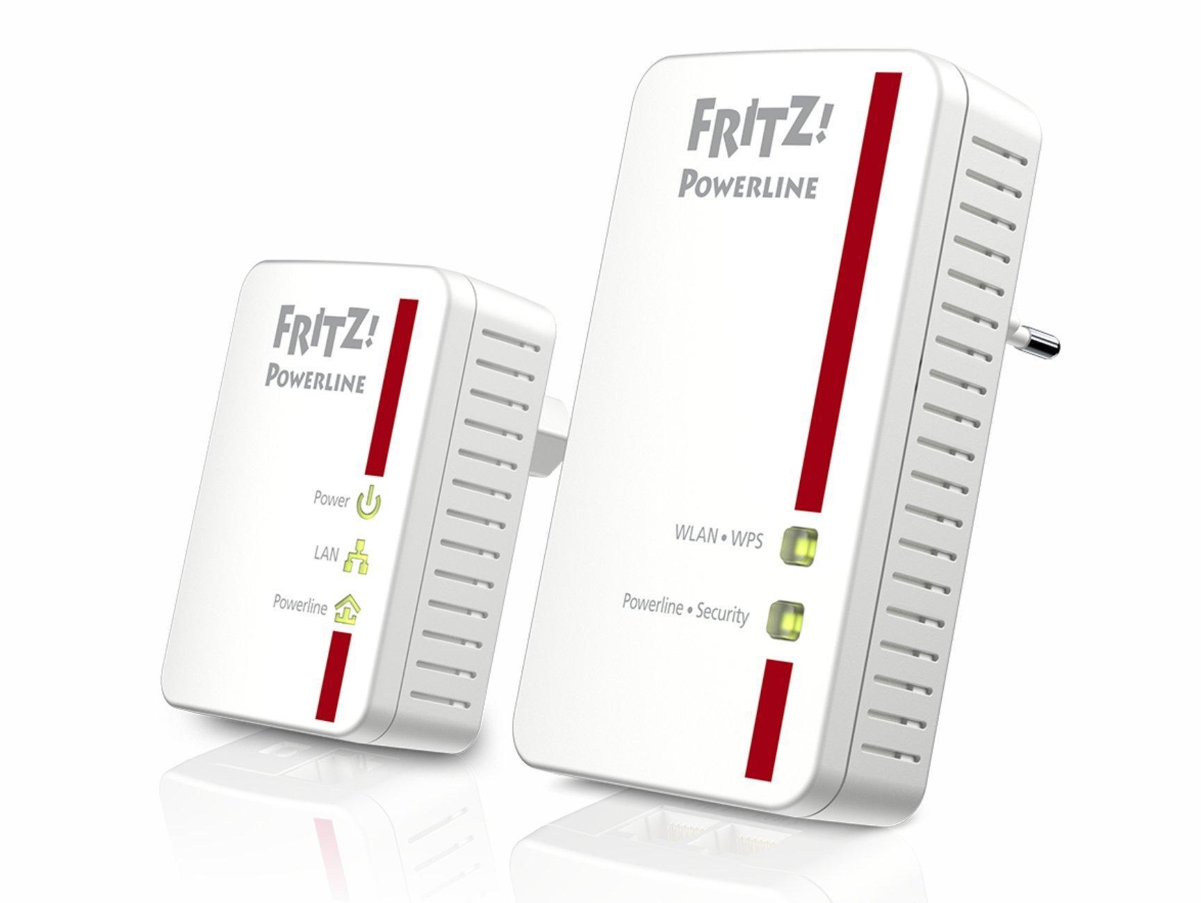 Fritz! Powerline 540E TV Adaptér LAN WiFi SmartTV