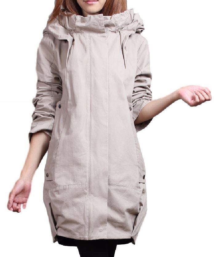 Kabát žien kabát jesionka vintage farba M