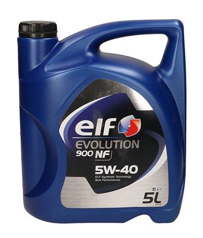 OLEJ ELF EVOLUTION 900 NF 5W40 5W-40 5L + GRATIS