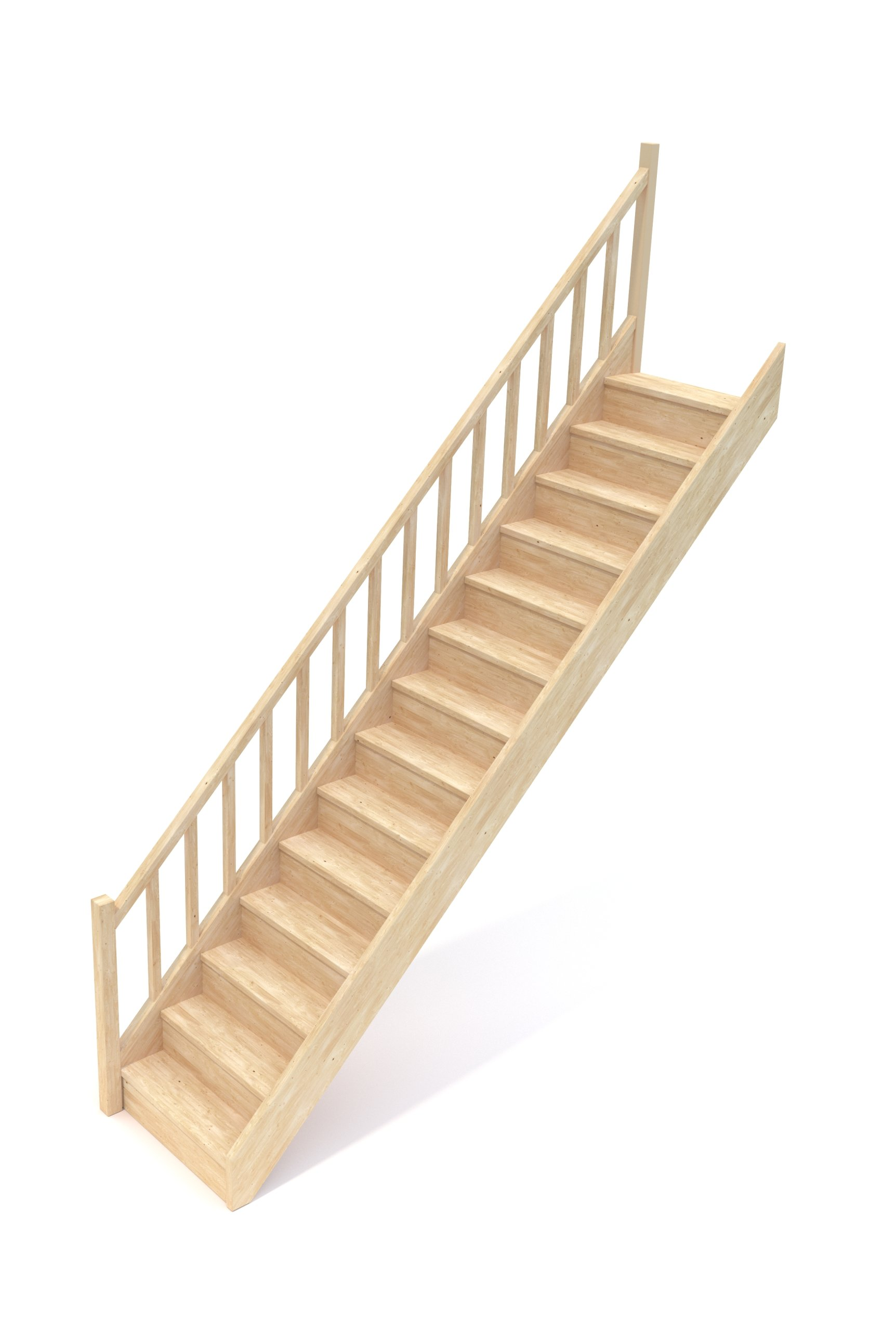Деревянная лестница EGD 080RC SOWOSZ