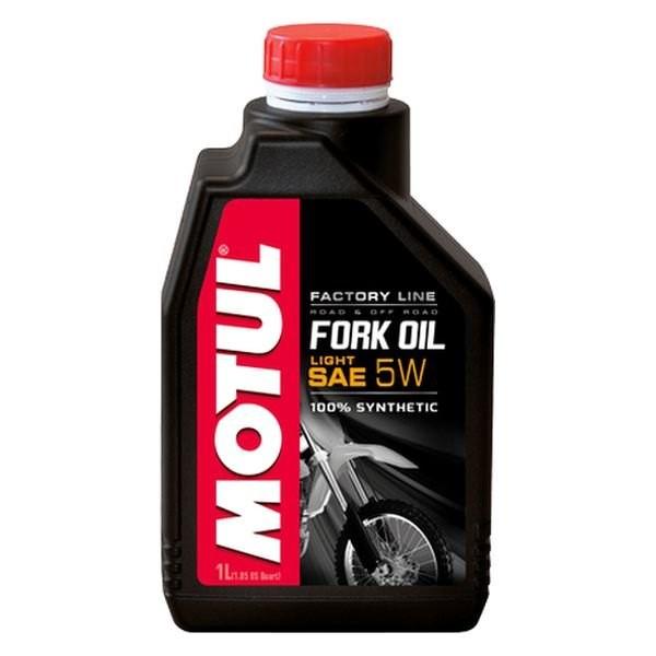 Motul Fork Oil 5W Factory Line Light 1Л масло лаг
