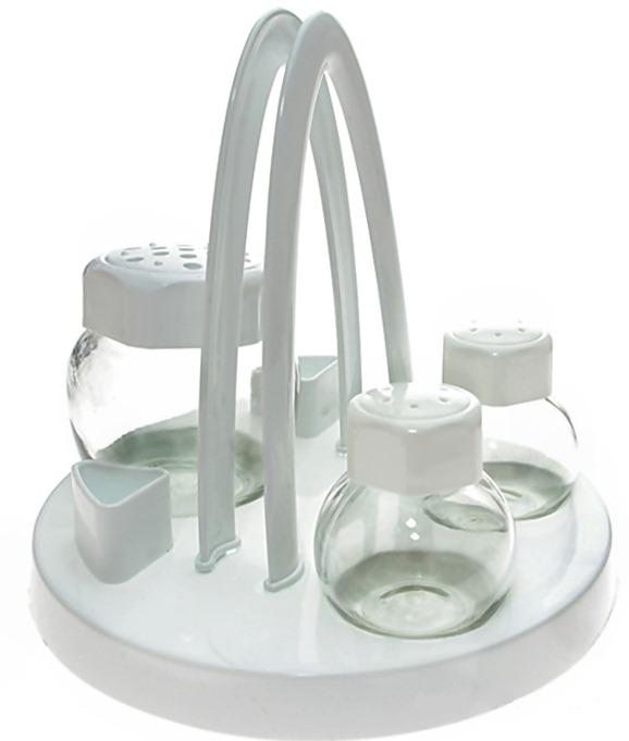 Propagačná súprava pre tabuľkové korenie 4 sklo / plasti
