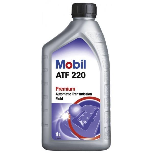 MOBIL ATF 220 DEXRON II D 1Л трансмиссионное czerwon