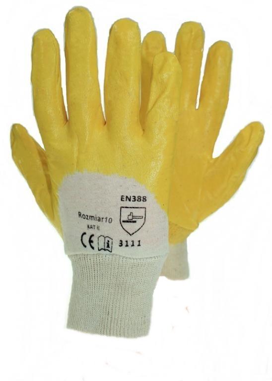 ПЕРЧАТКИ РАБОЧИЕ НИТРИЛОВЫЕ перчатки водонепроницаемые роз 10