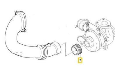 bmw e46 e90 e39 e60 e65 3d прокладка турбины turbo