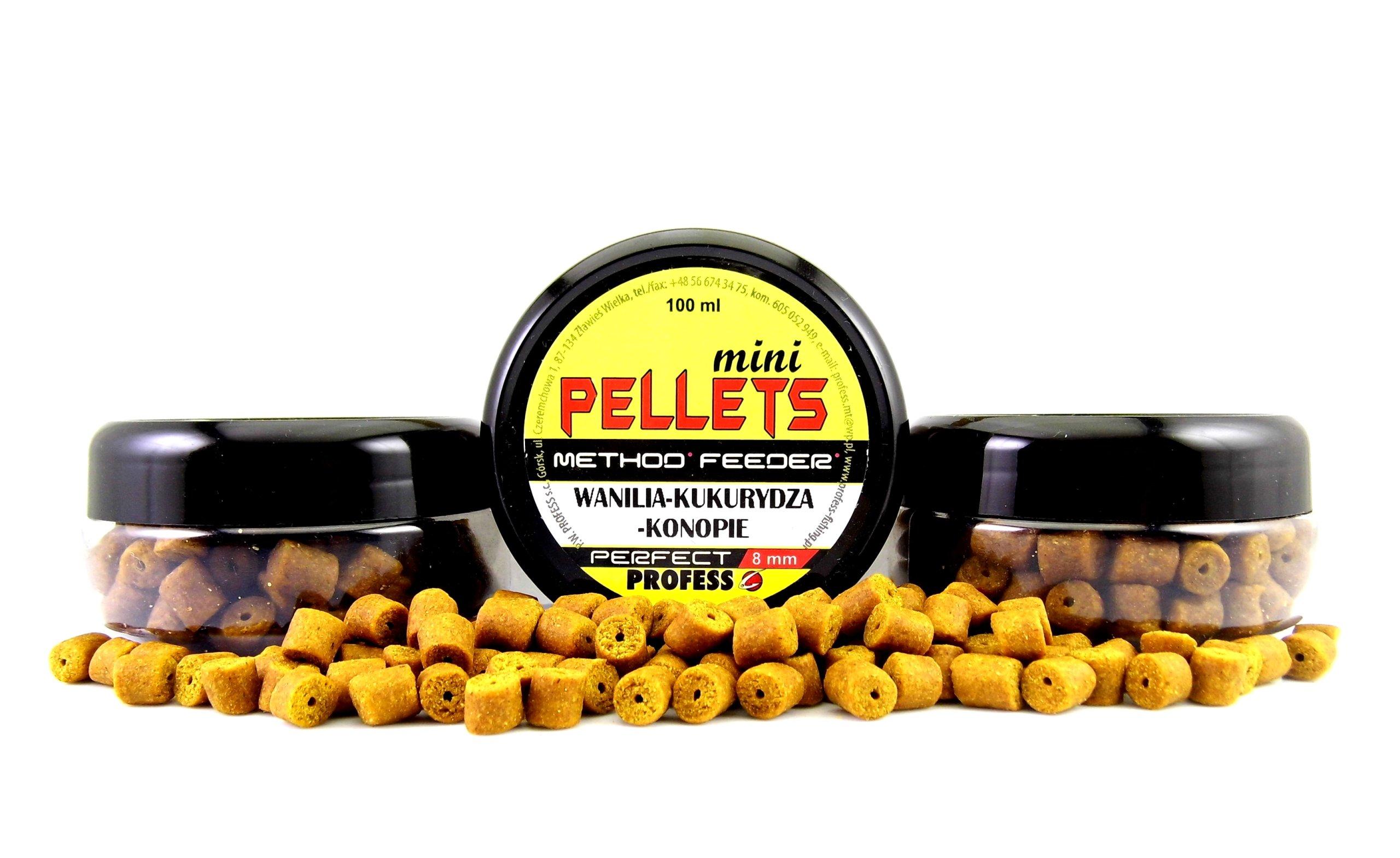 Profesn Mini Pellet Vanilla-Corn-Hep 8mm