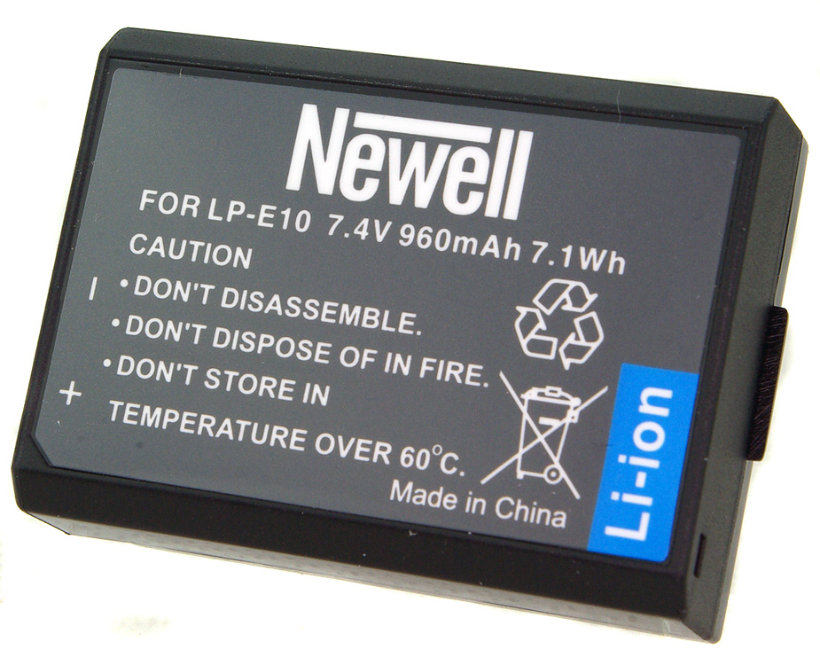 Batéria batérie pre Canon EOS 1100D 1200D 1300D