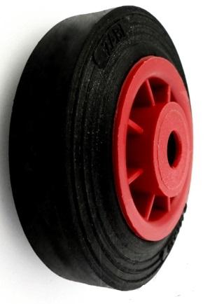 FI 100 Kolesá Kruhy Plastové diapozitívy Koleso 60 kg