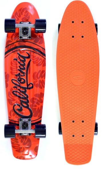 SKATEBOARD FISZKA UT-2808 CALIFORNIA ABEC7 71x19cm