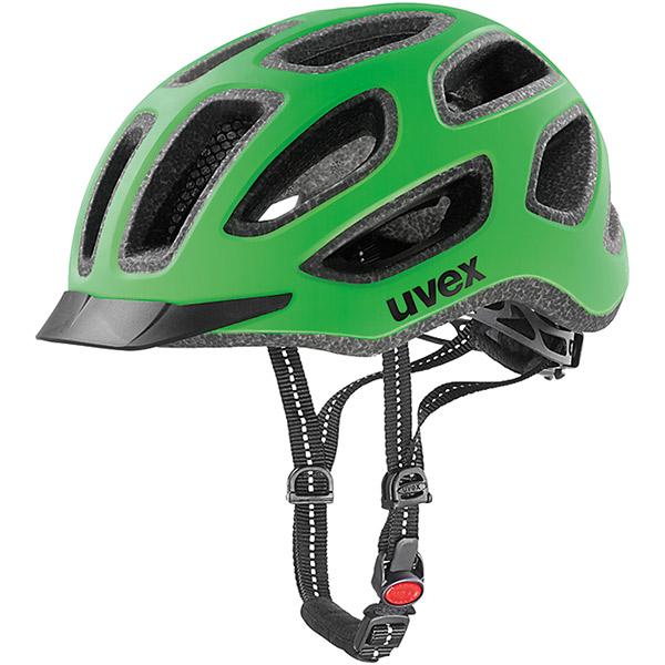 Cyklistická prilba Uvex City E Green Urban 52-57 24h