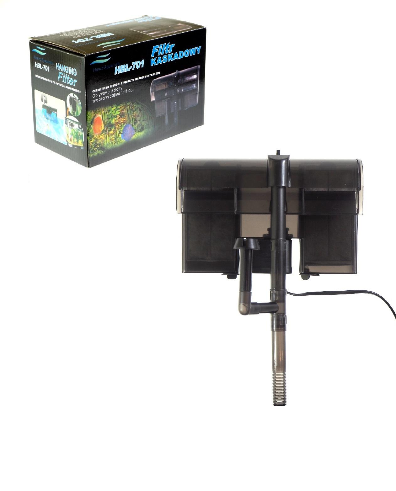 фильтр каскадный HBL-701 600 л/ч для 200л уголь 2ШТ