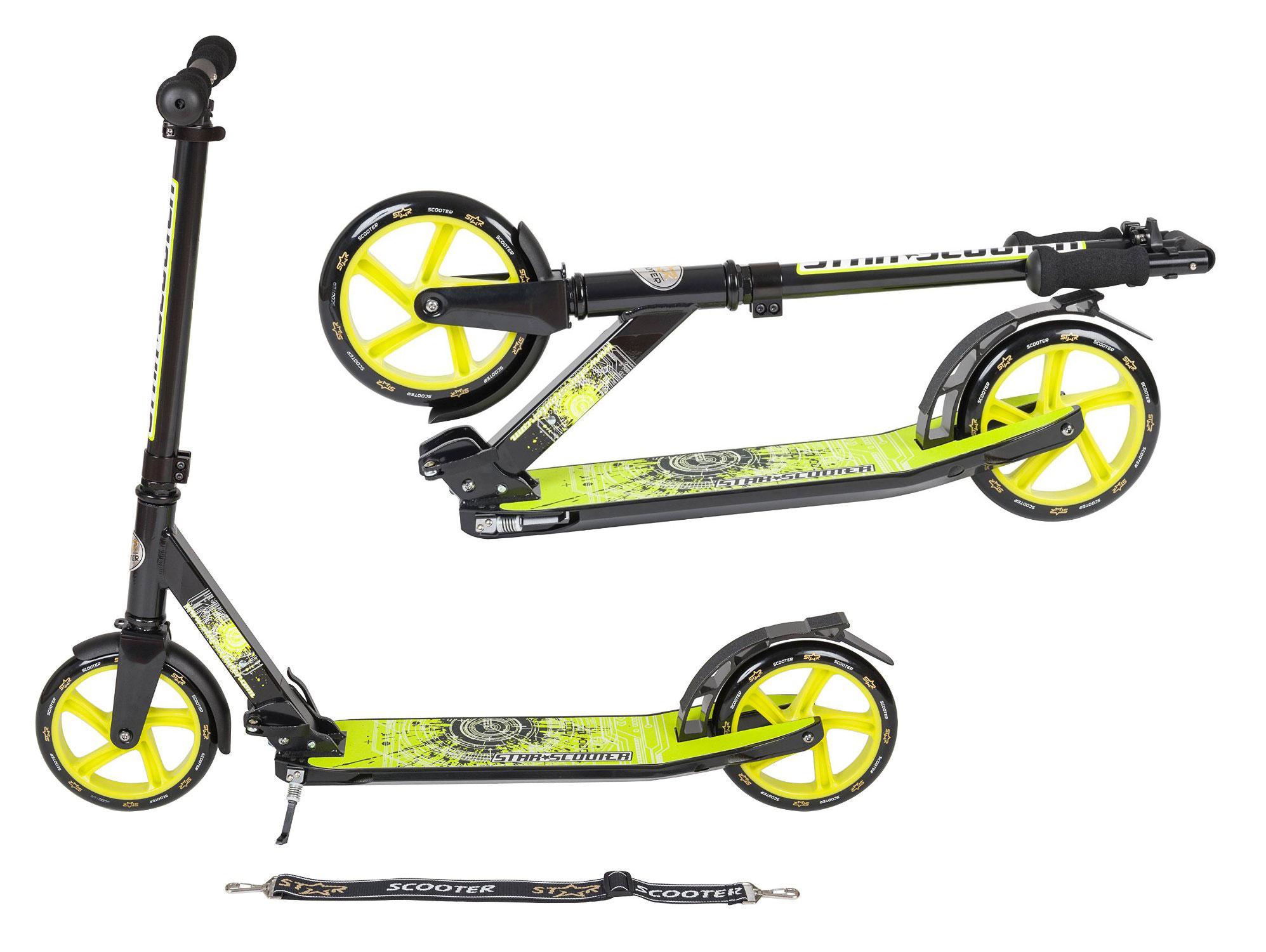 SKÚTRE BikeStar Luxus 205mm100kg NEMČINA XL