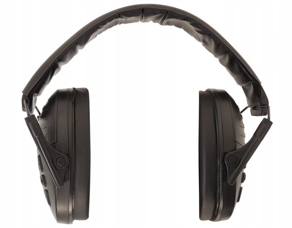 Elektronické slúchadlové chrániče sluchu Gamo - black