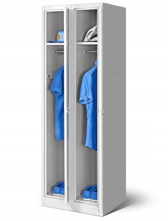Социальная охране ТРУДА шкаф металлический для одежды  НОВАК
