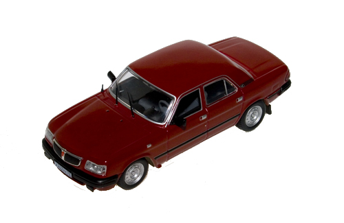 GAZ 3110 Volrga 1997 Dark Red 1:43 / IsTModels 006
