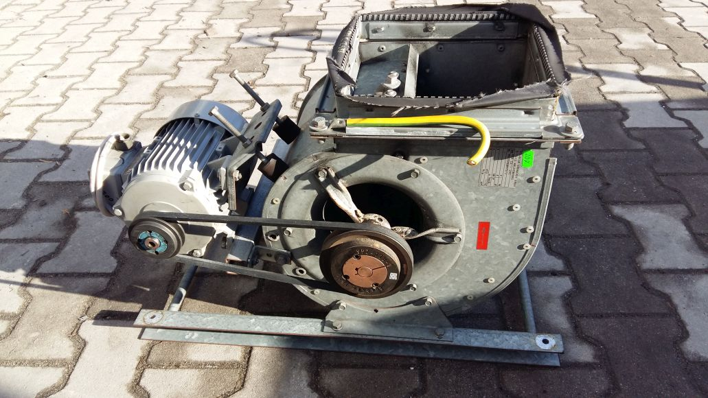 Radiálny ventilátor Nicotra RZR 200 2