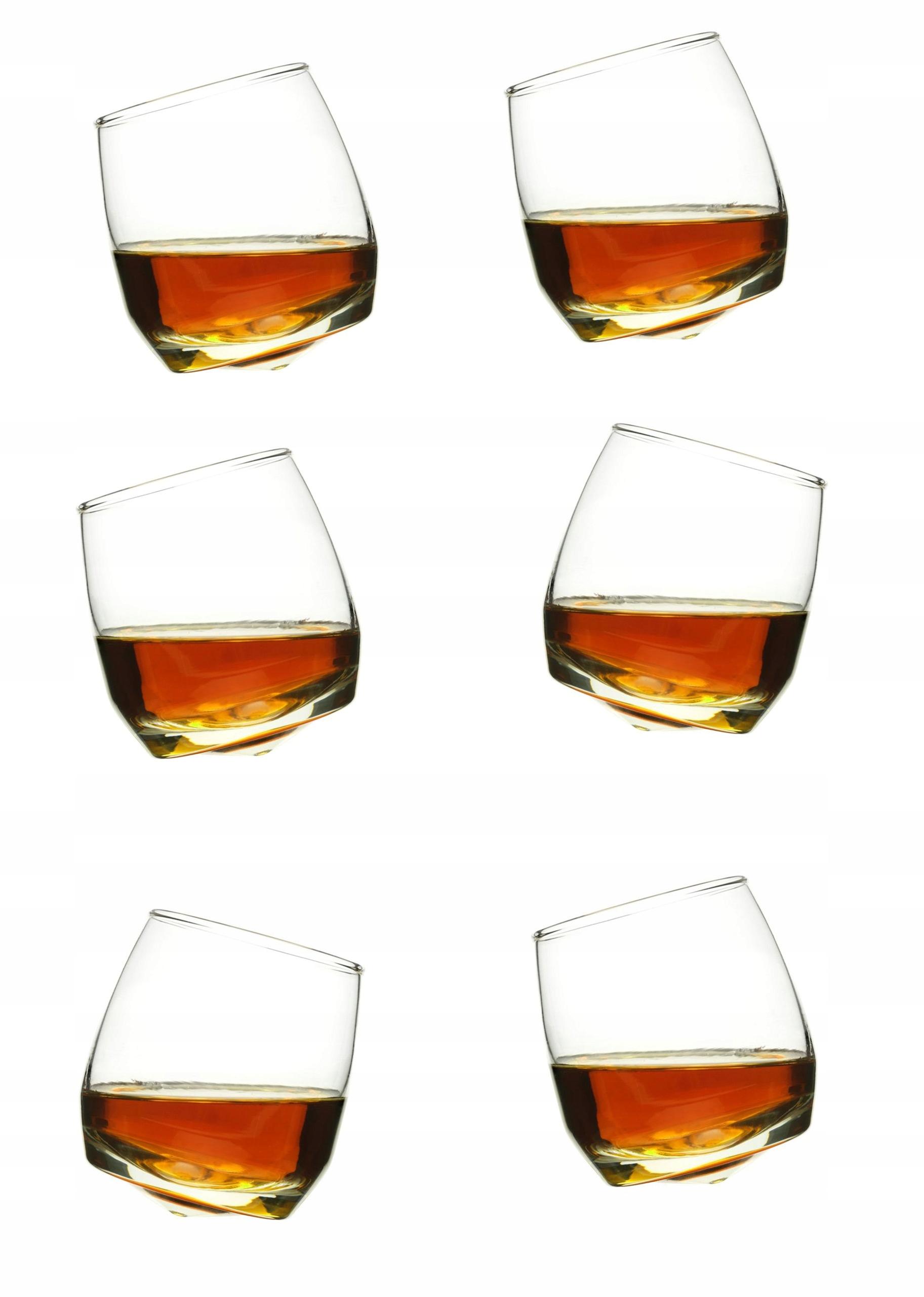 Sagaformové okuliare pre whisky 6 ks nastaviť