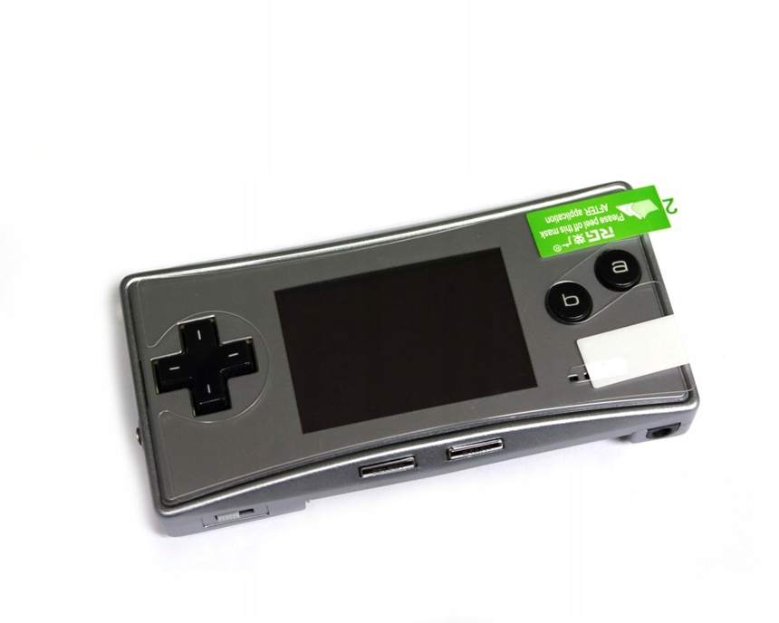 Item Protective film on the screen of the Game Boy Micro