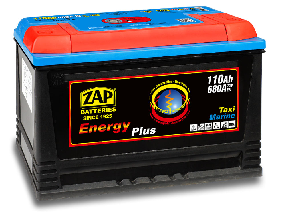 Аккумулятор ZAP ENERGY PLUS 110Ah MARINE TO BOAT