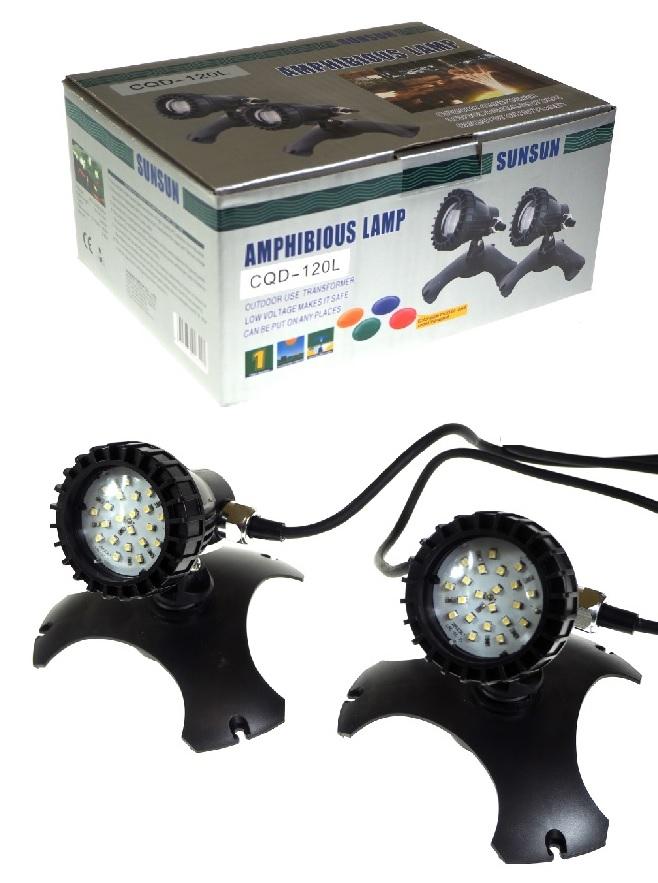 ЛАМПА для сада , 2 X 20 LED  -120l 2 X 1 ,5 В