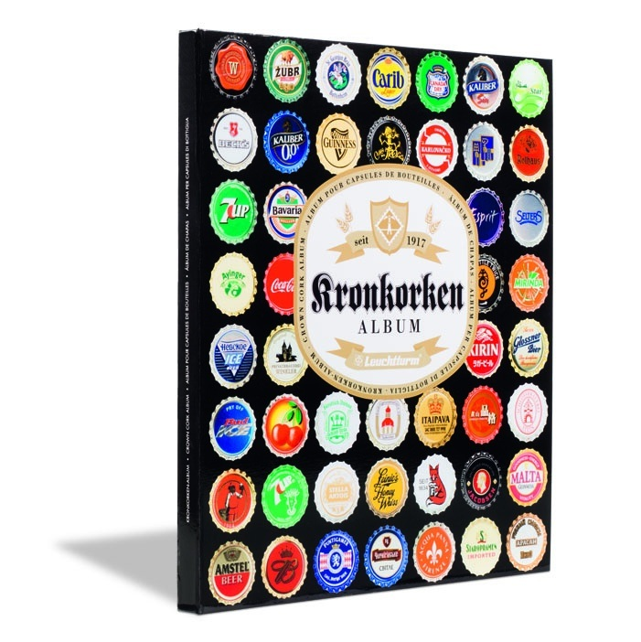 Leuchtturm - album na pivné čiapky 64 ks.