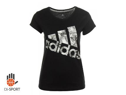 t shirt czarny damski adidas