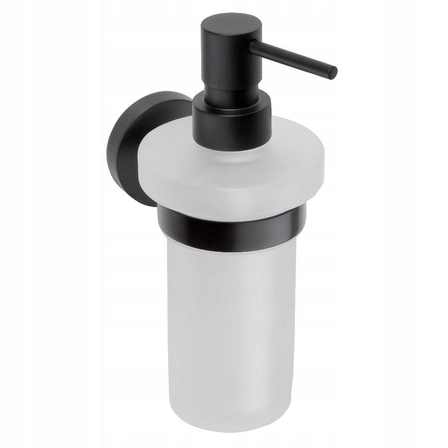Dávkovač čierneho mydla, pohár na mlieko, 250ml, TMAVÝ