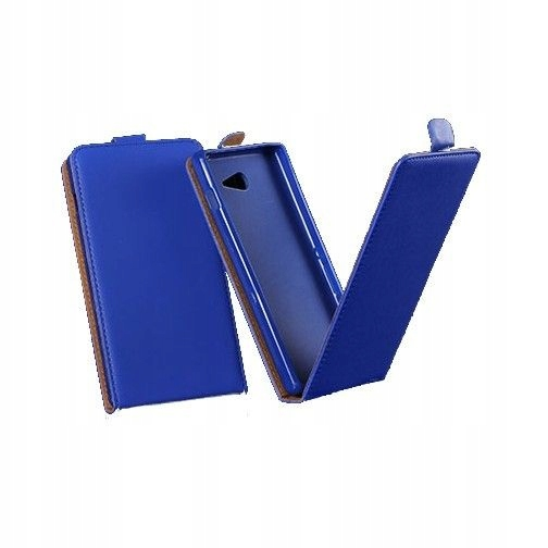 Kabura Slim Flexi Sony Xperia Z3 niebieski