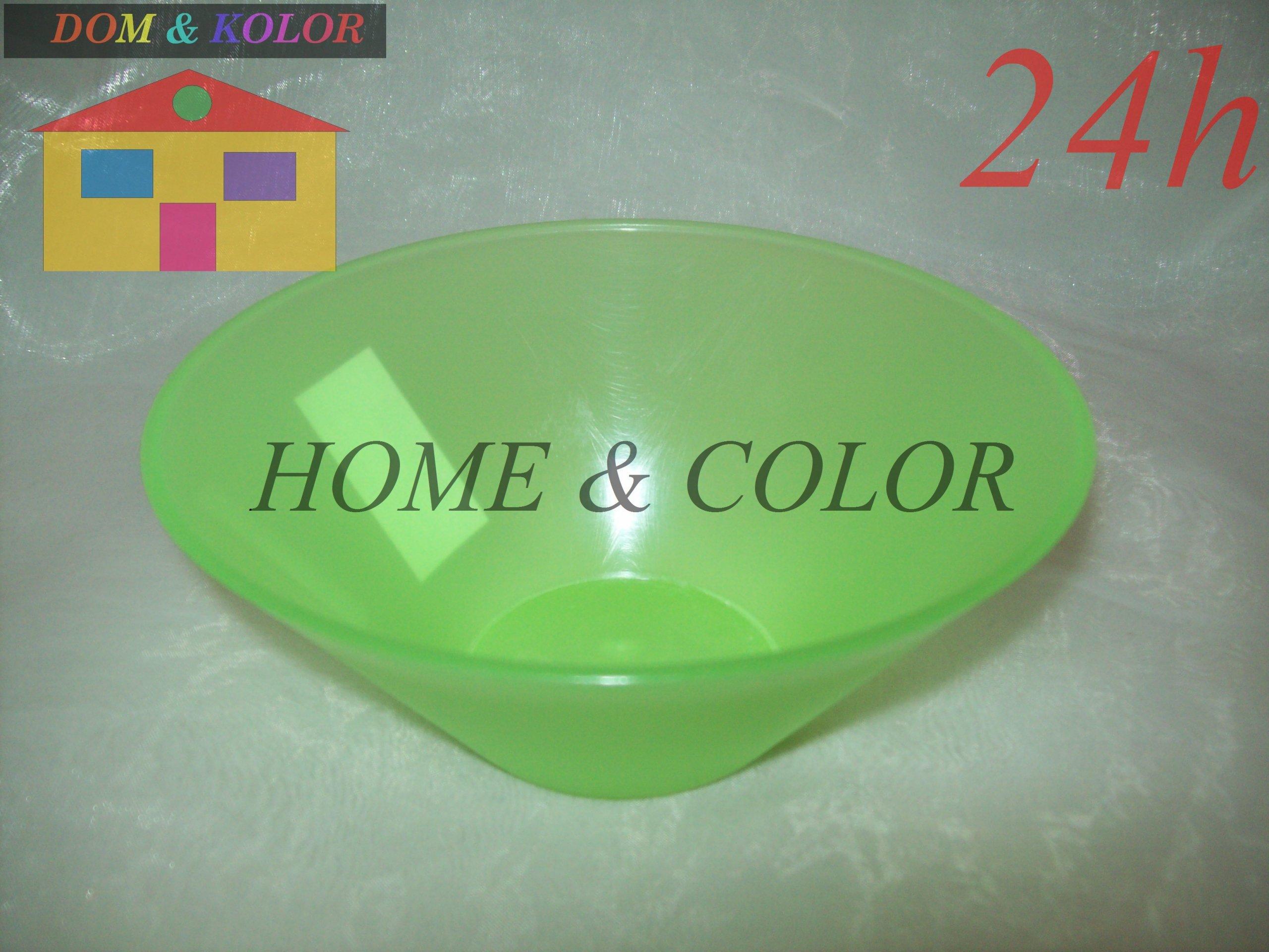 Zelená plastová misa pre mikrovlnnú rúru