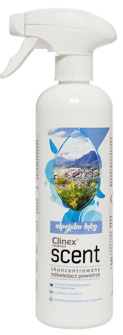 Clinex Odświeżacz Scent Alpejska Łąka 500 ml konc