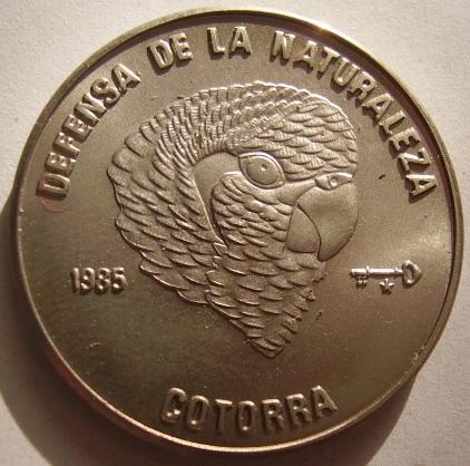 Купить КУБА 1 песо 1985 Попугай Cotorra на Otpravka - цены и фото - доставка из Польши и стран Европы в Украину.
