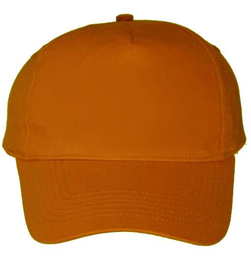 Baseball Cap Orange Baseball Cap