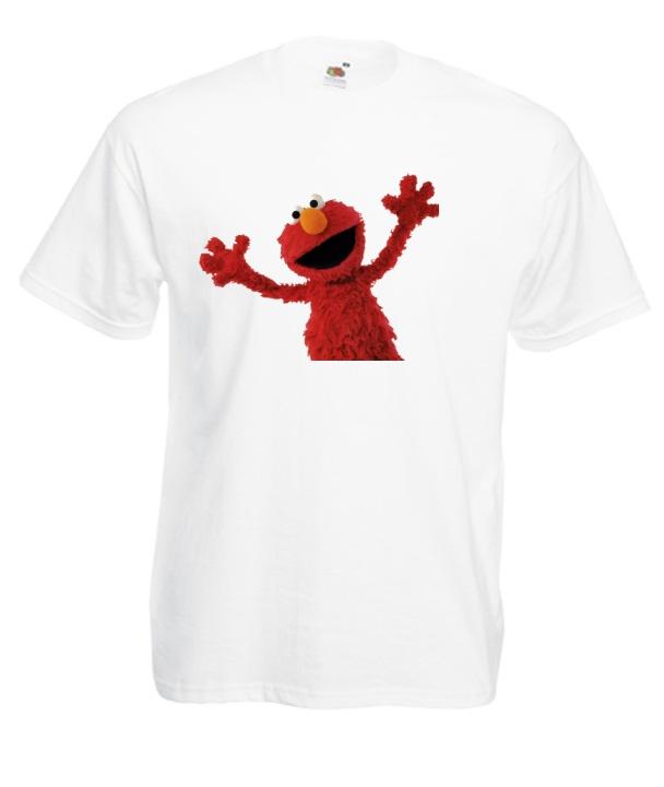 Pánske elmo Dámske košele Sesame Street