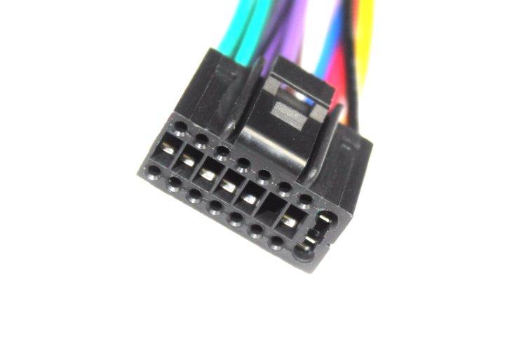Cable ISO pour autoradio JVC KD-R35 KD-R45 KD-R50 KD-R53 KD-R90BTE KD-R301