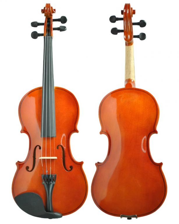 Violin 1/2 + CASE + BROSETASE + CAULRON