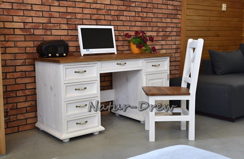 Nový drevený stôl 37-retro, vidiecky, rustikálny