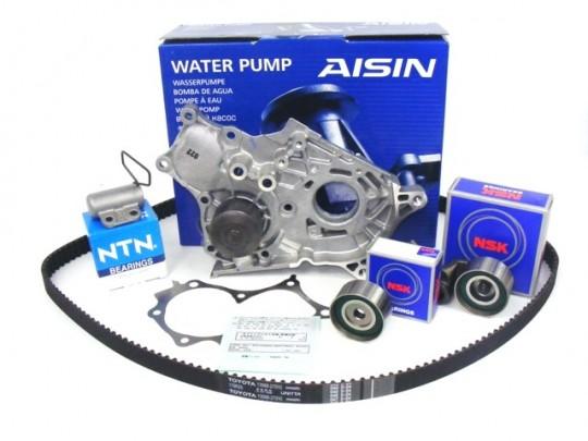 двигатель + насос toyota 20 d4d d-4d avensis rav4