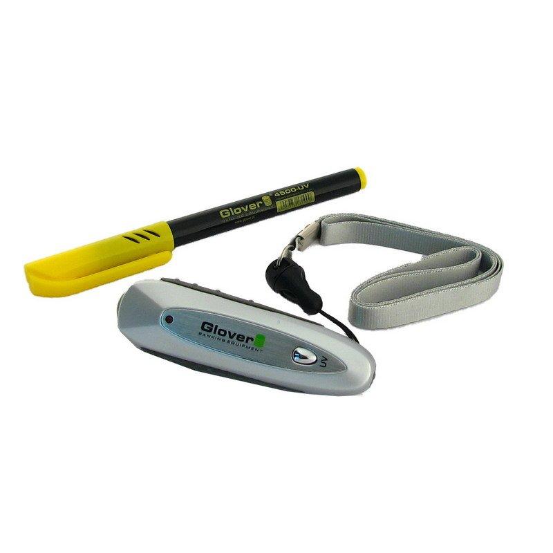 Bezpečnostný súbor: UV marker a MG Bankovky Tester