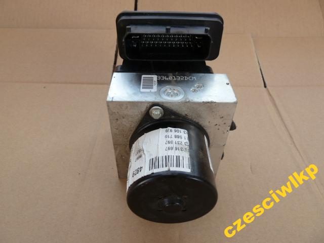 ABS ABS OPEL Insignia 1.8 140 A18XER Brzdové čerpadlo