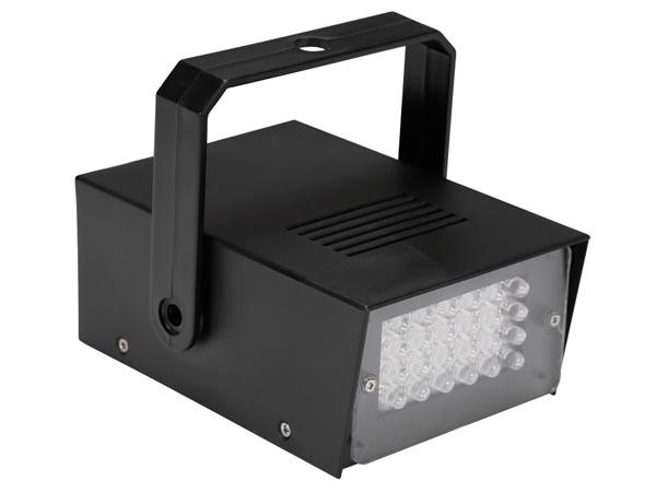 Stroboscope LED 24 LED diódy - na batériách