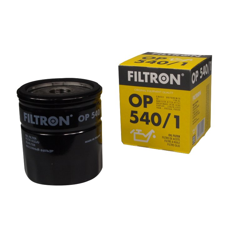 filtron кол-во в упак 5401 фильтр масла fiat peugeot citroen
