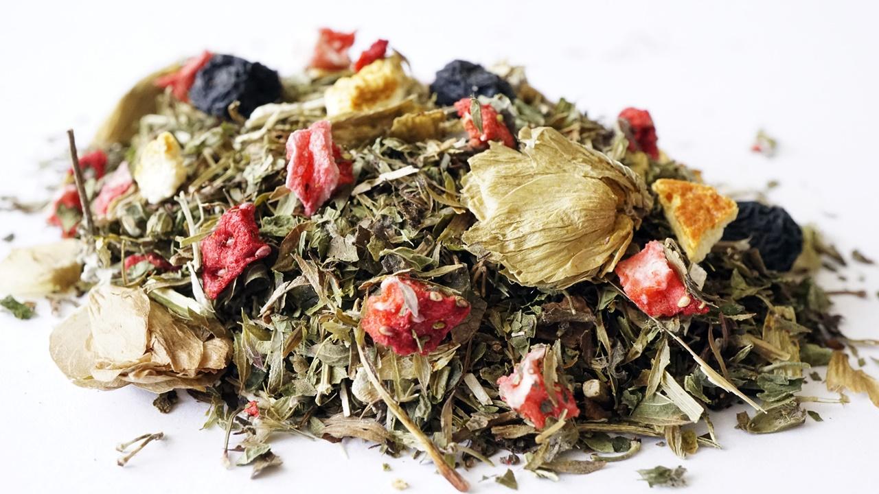 POKOJNÝ deň 500 gramov bylinný čaj MELISSA chmeľu