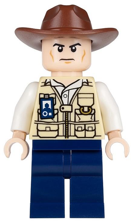 Lego Jursic World Vet-Hat Fedory JW009   KLOCUS24  