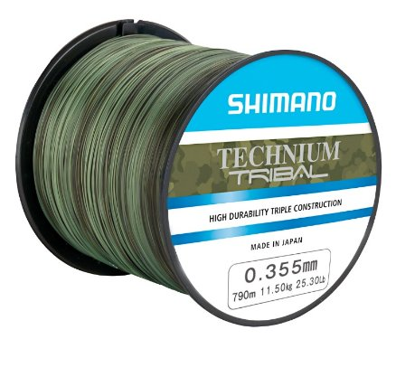 Shimano Technium TRIBAL 0.305 za 1100m mm 8,5 kg 18,7 lb
