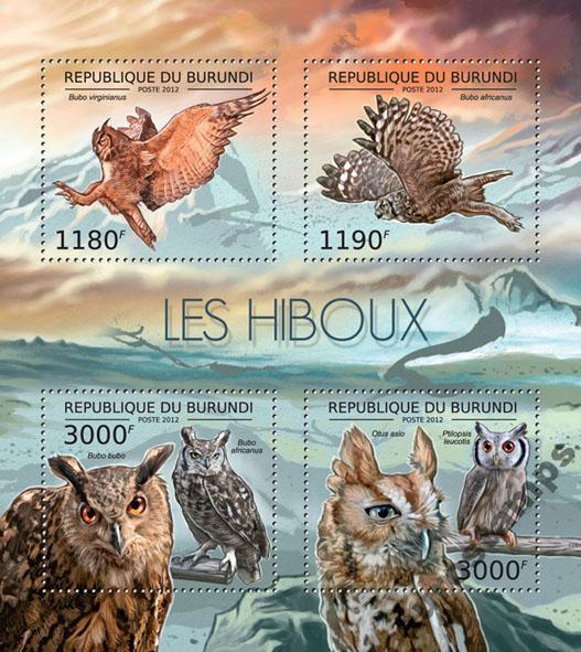 Купить Хищные птицы OWLS Burundi arkusik # BUR12605a на Otpravka - цены и фото - доставка из Польши и стран Европы в Украину.
